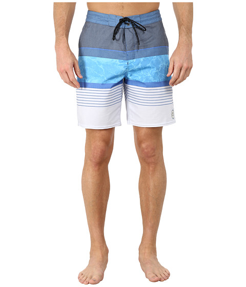Billabong - Spinner Lo Tides Boardshorts (Blue) Men's Swimwear