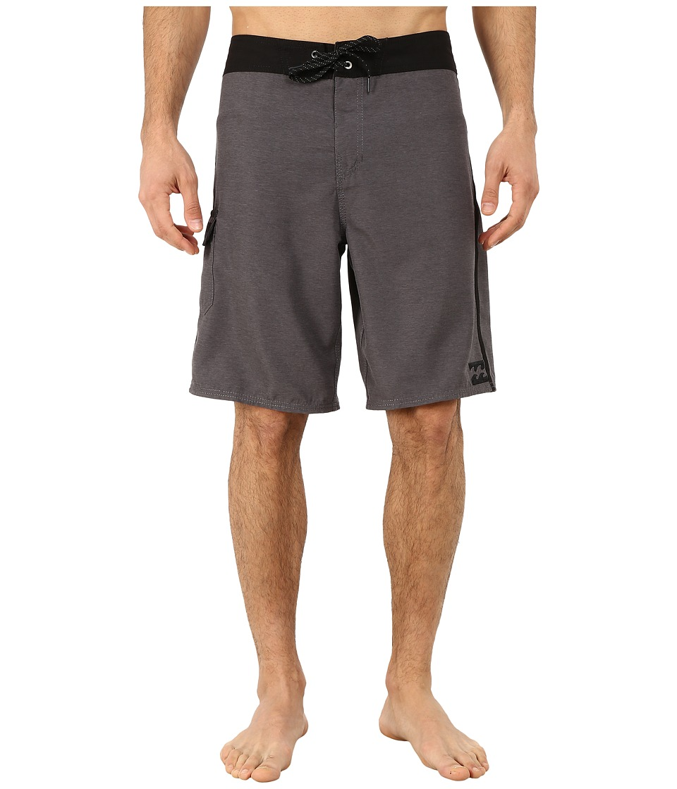 Billabong - All Day Heather Boardshorts (Dark Grey) Men's Swimwear