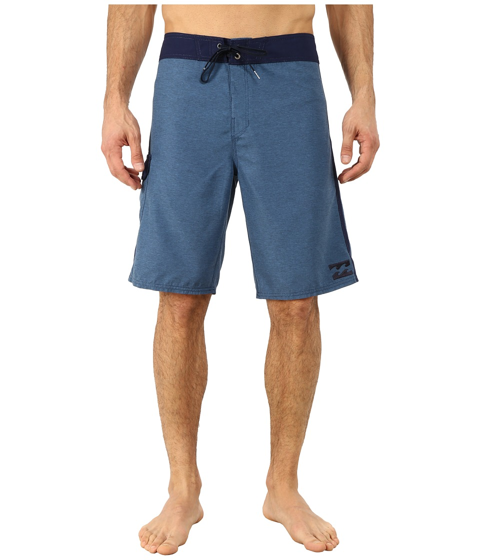Billabong - All Day Heather Boardshorts (Indigo) Men's Swimwear