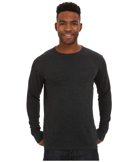 Billabong - Option Thermal (Black Heather) Men's Clothing
