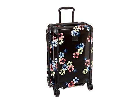 Tumi - Tegra-Lite International Carry-On (Black Floral) Carry on Luggage