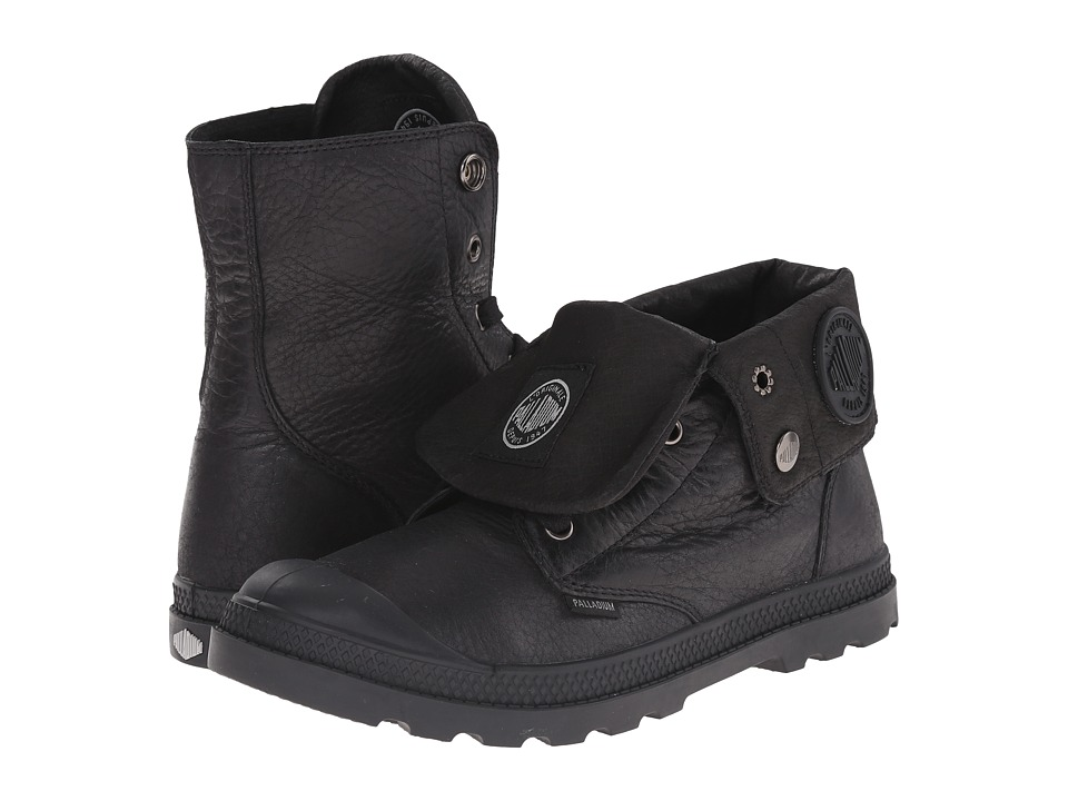 Palladium - Baggy Lea Low LP (Black) Women's Boots