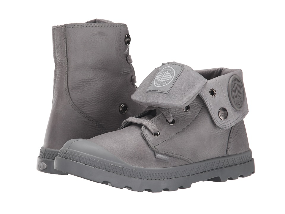 Palladium - Baggy Lea Low LP (Titanium) Women's Boots