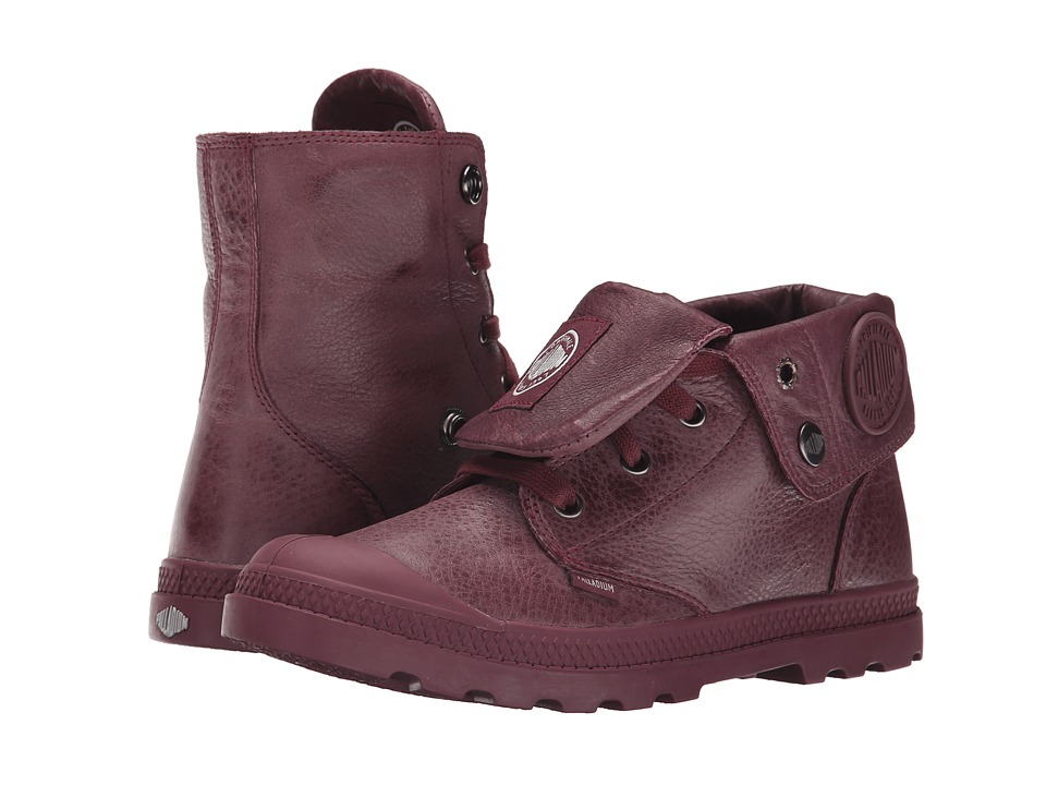 Palladium - Baggy Lea Low LP (Windsor Wine) Women's Boots