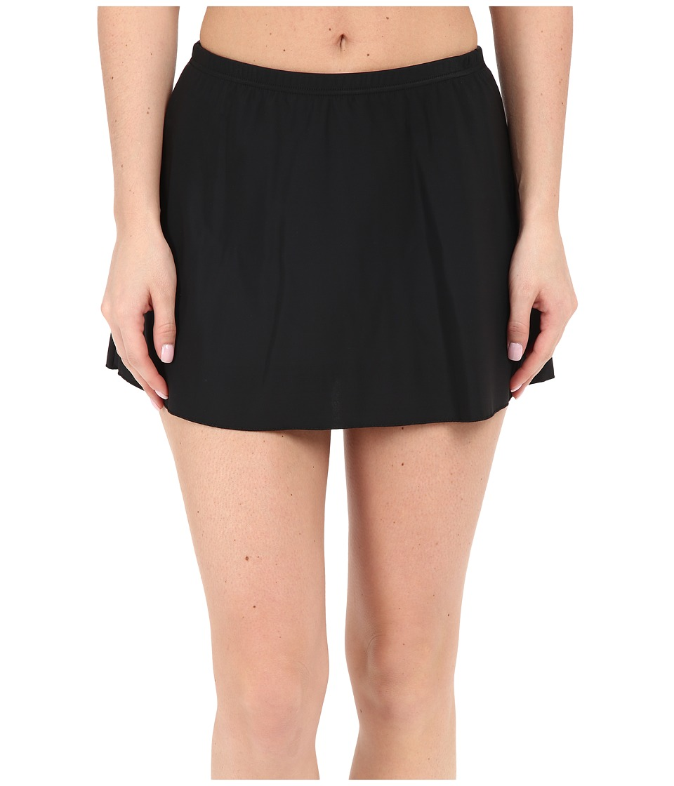Miraclesuit - Skirted Bottoms (Black) Women's Swimwear