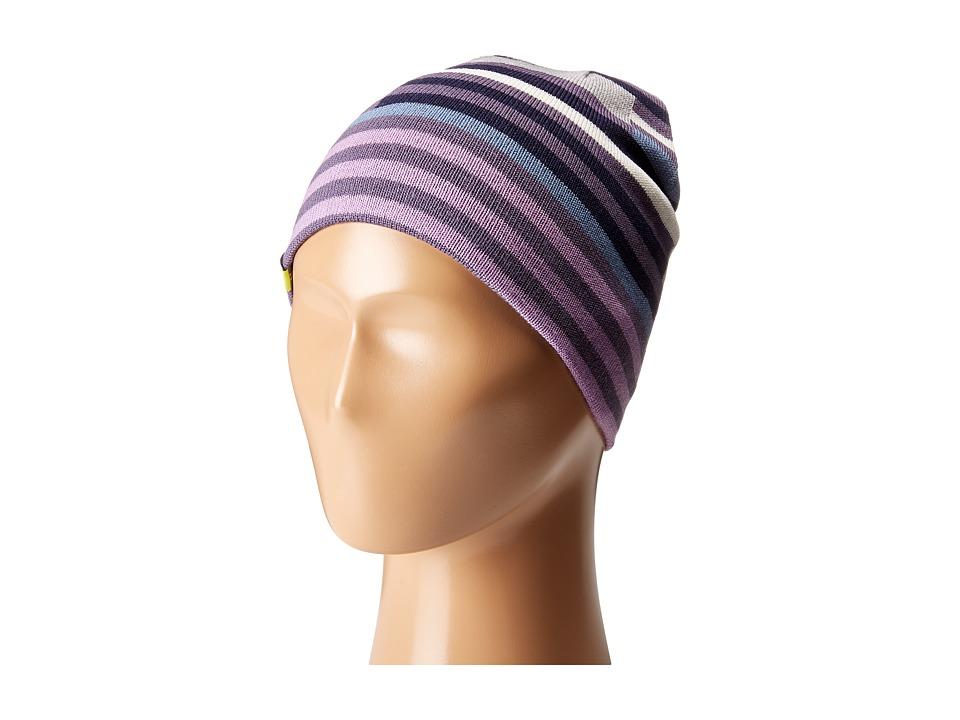 Smartwool - Wintersport Stripe Hat (Little Kids/Big Kids) (Desert Purple) Beanies