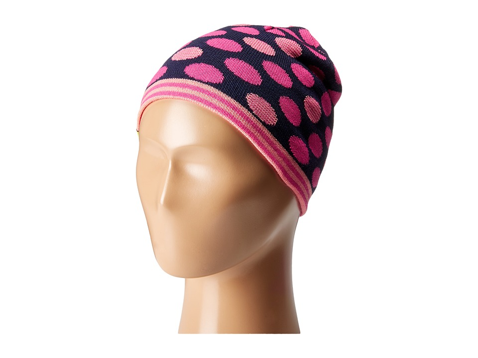 Smartwool - Reversible Wintersport Dot Hat (Little Kids/Big Kids) (Bright Pink) Beanies