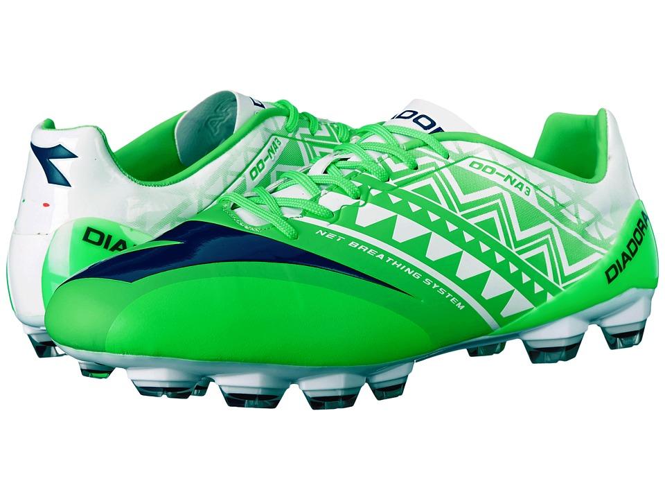 Diadora DD-NA3 GLX 14 (Fluo Green/White) Men
