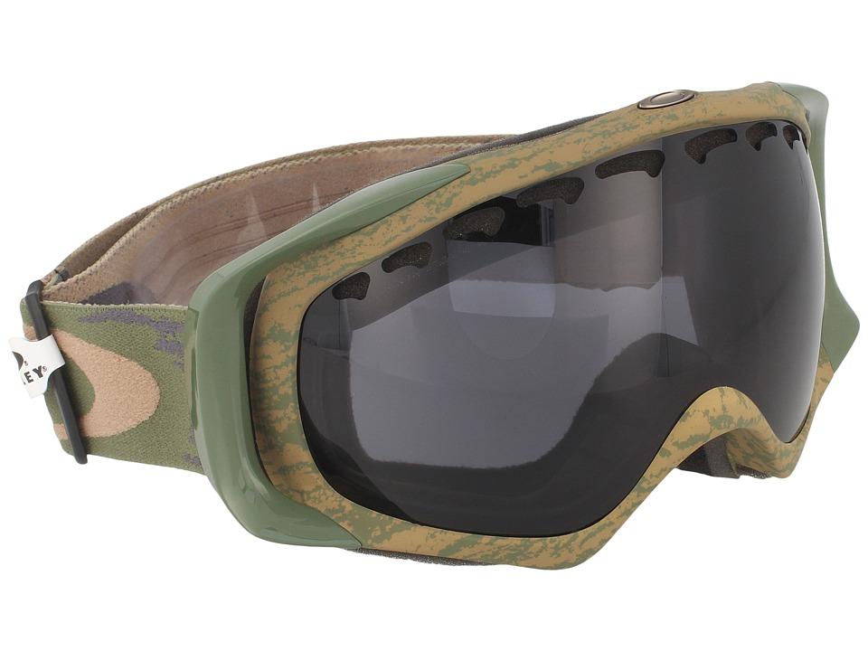 Oakley - Crowbar (Sheridan Khaki Olive/Dark Grey) Snow Goggles