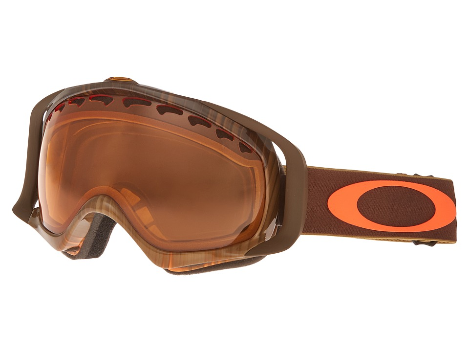 Oakley - Crowbar (Wet Dry Neon Rhone/Persimmon) Snow Goggles