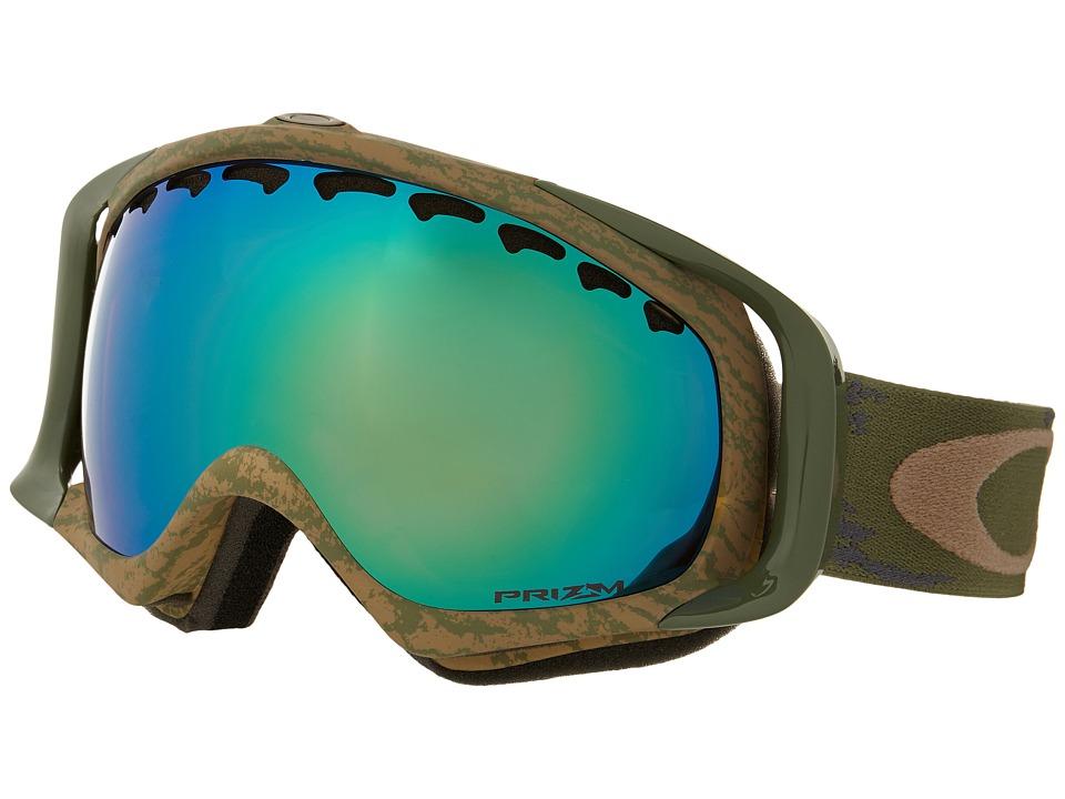 Oakley - Crowbar (Sheridan Khaki Olive/Prizm Jade Iridium) Snow Goggles