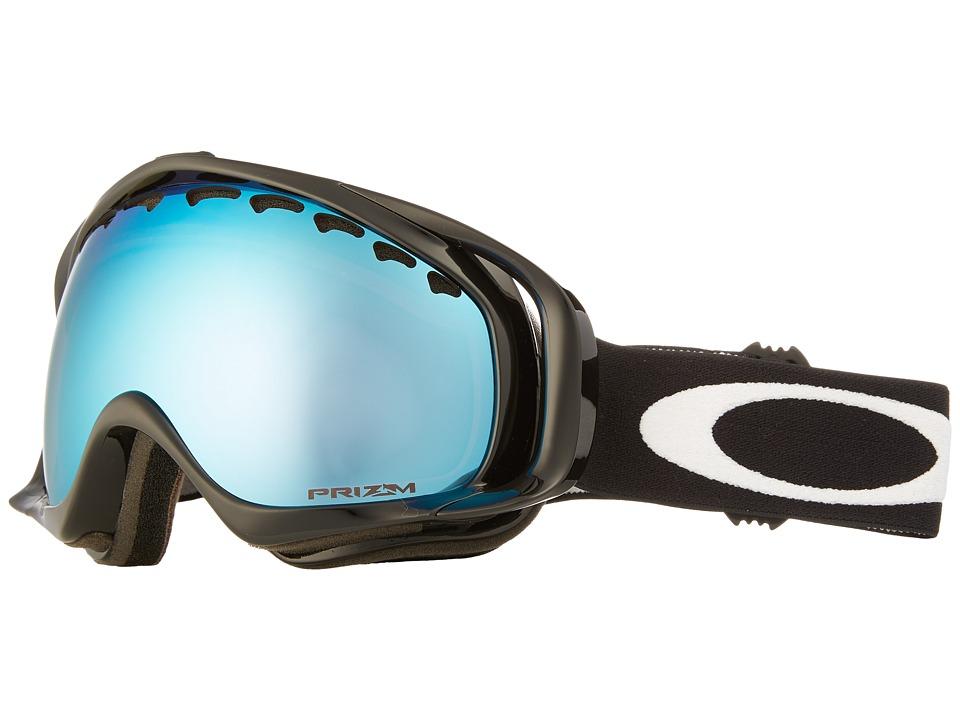 Oakley - Crowbar (Jet Black/Prizm Sapphire Iridium) Snow Goggles