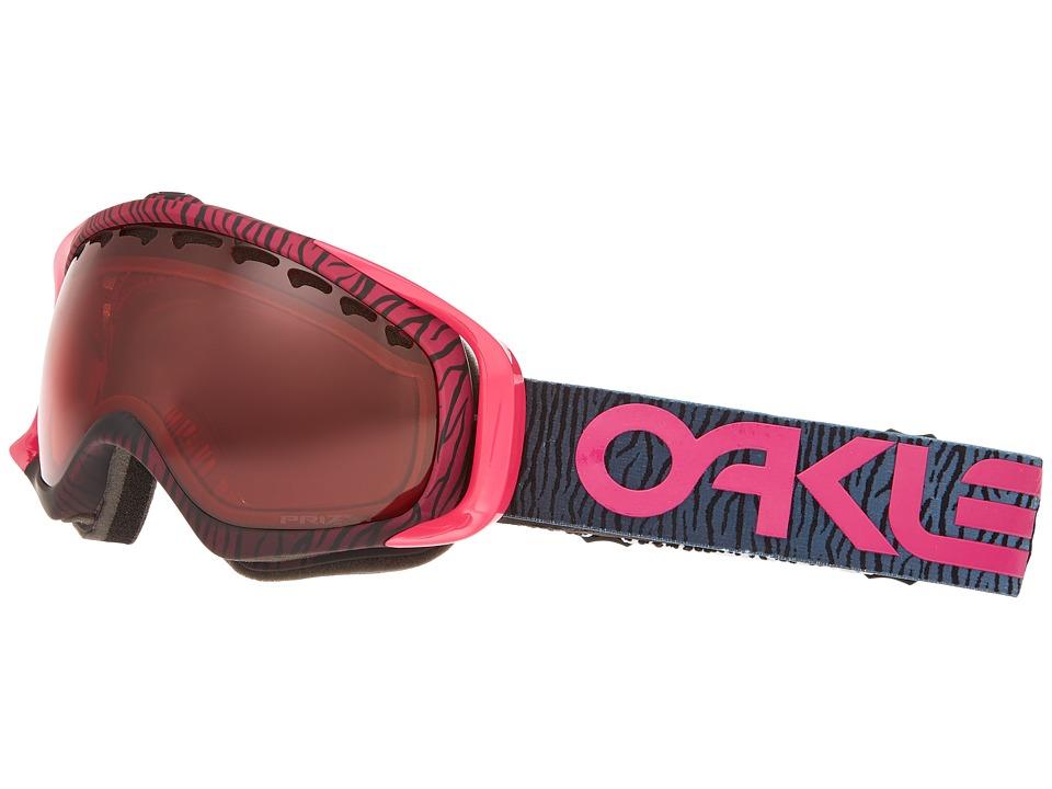 Oakley - Crowbar (Factory Pilot Bengal Pink/Prizm Rose) Snow Goggles