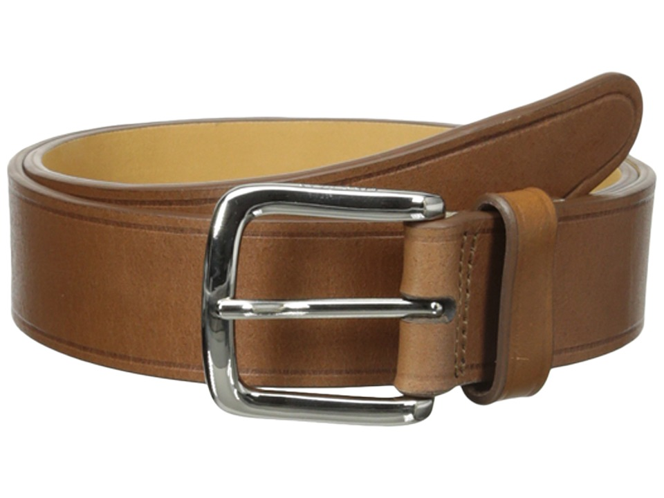 Cole Haan - 35mm Buff Harness Leather Belt (Tan) Men's Belts