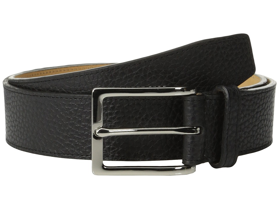 Cole Haan - 35mm Pebble Belt (Black) Men's Belts