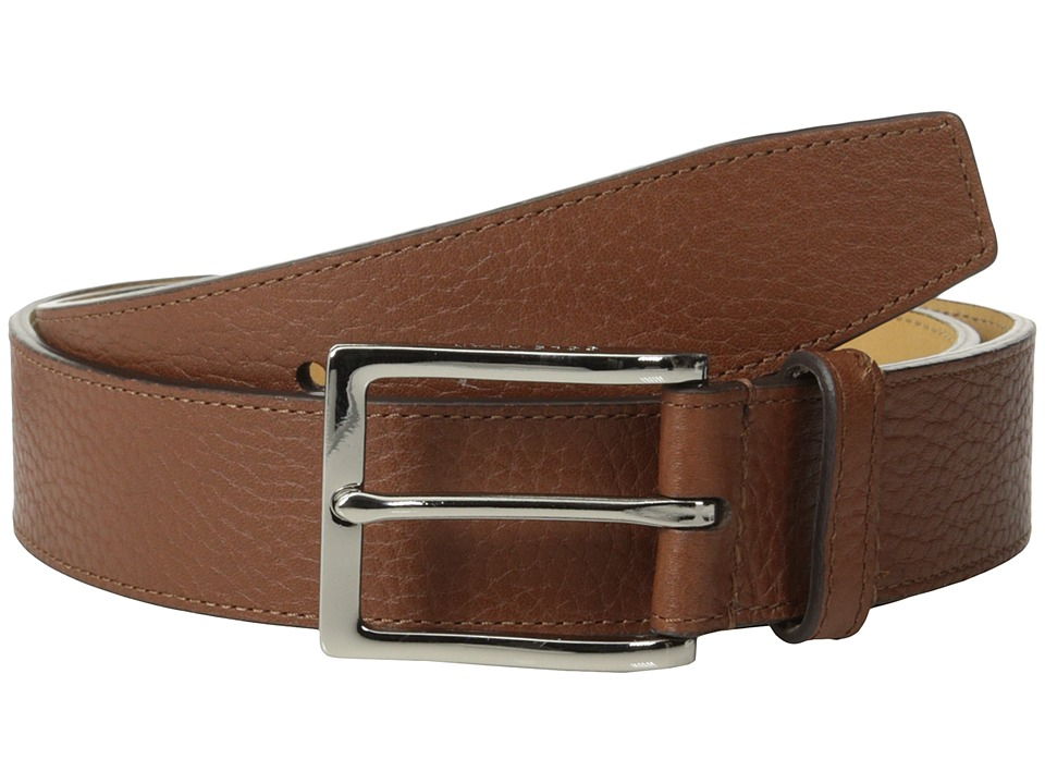 Cole Haan - 35mm Pebble Belt (Cognac) Men's Belts