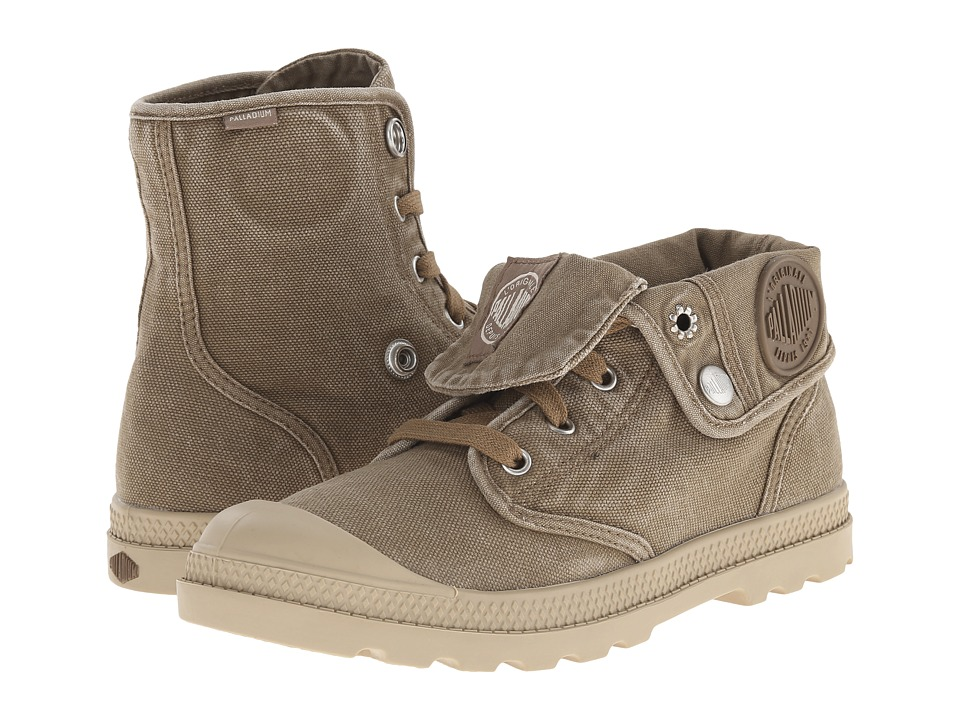 Palladium - Baggy Low LP (Tobacco/putty) Women's Lace-up Boots