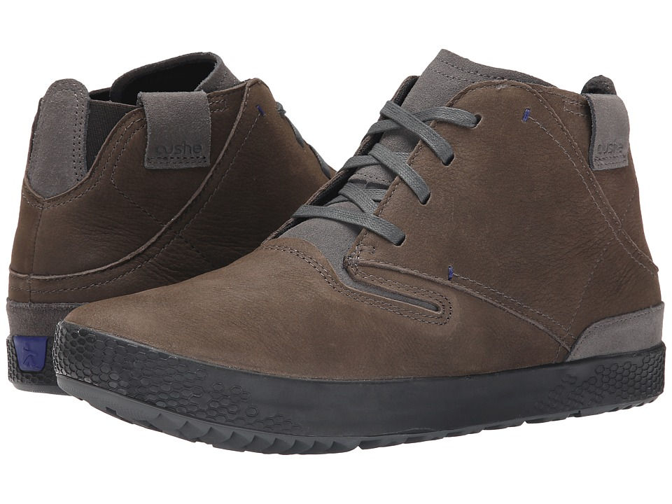 Cushe - PDX Leather (Dark Grey) Men