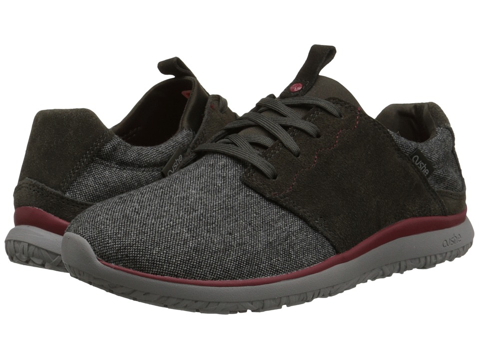 Cushe - Getaway (Dark Grey Wool/Red) Men