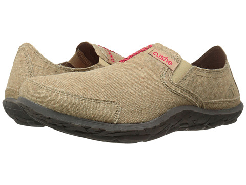Cushe - Cushe M Slipper (Natural/Red) Men's Slip on Shoes