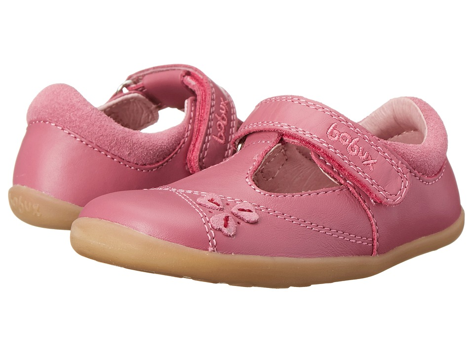 Bobux Kids - Step Up Lucky Clover T-Bar (Infant/Toddler) (Pink) Girls Shoes