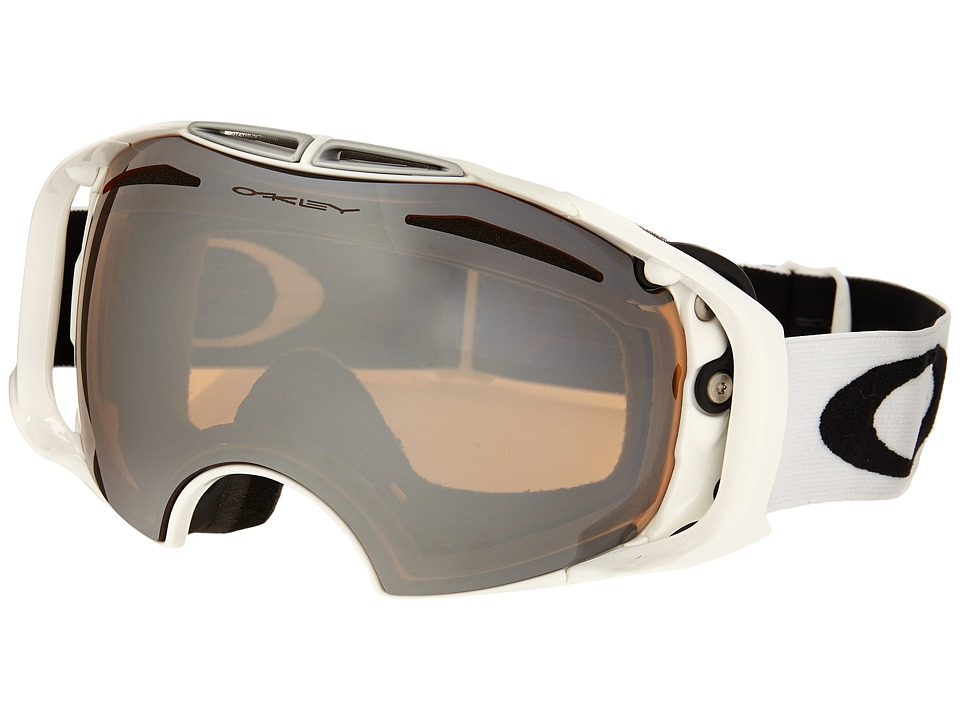 Oakley - Airbrake (Polished White/Black Iridium) Snow Goggles