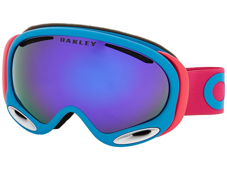 Oakley - A-Frame 2.0 (Factory Pilot Pink/Violet Iridium) Snow Goggles