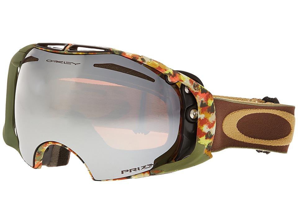 Oakley - Airbrake (Army Equinox/Prizm Black Iridium) Snow Goggles
