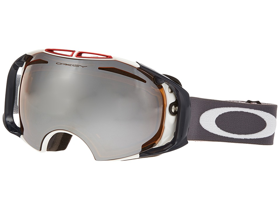 Oakley - Airbrake (USA Olympic Green/Black Iridium) Snow Goggles