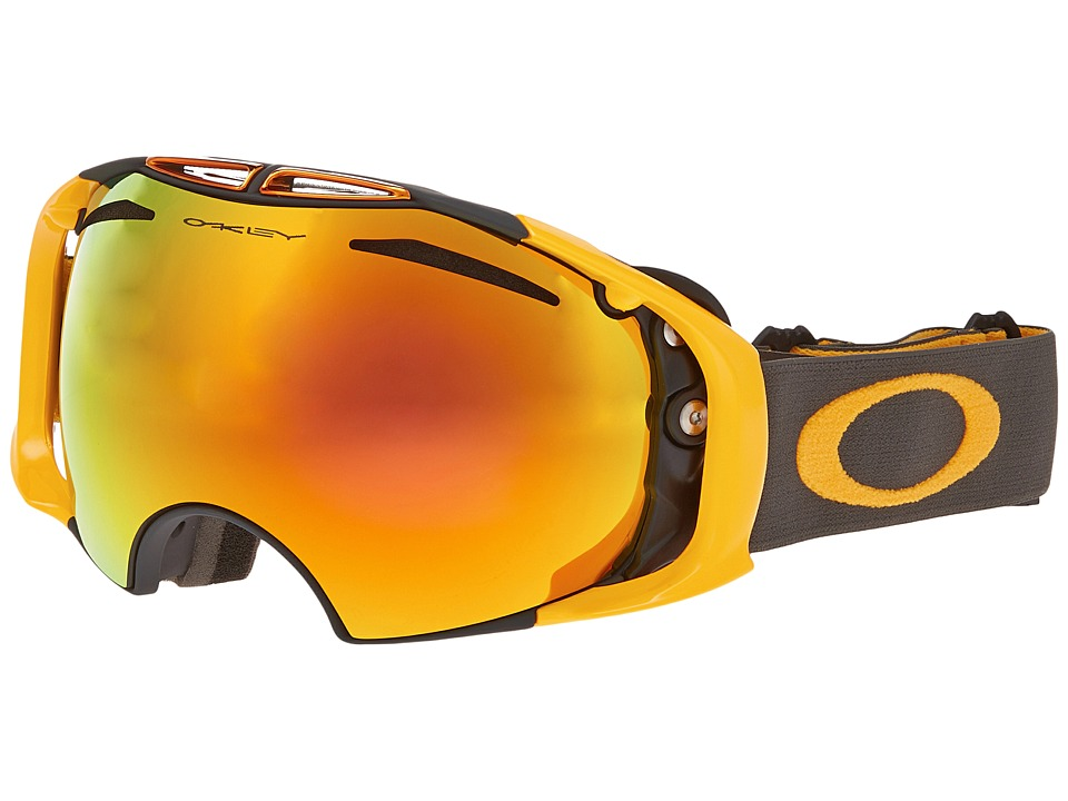 Oakley - Airbrake (Dark Gunmetal/Fire Iridium) Snow Goggles