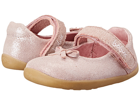 Bobux Kids - Step Up Little-Bo-Peep Ballet Shoe (Infant/Toddler) (Pink) Girls Shoes