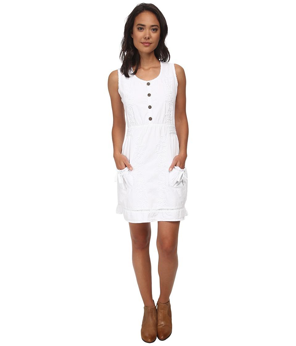 Scully - Addie Dress (White) Women's Dress