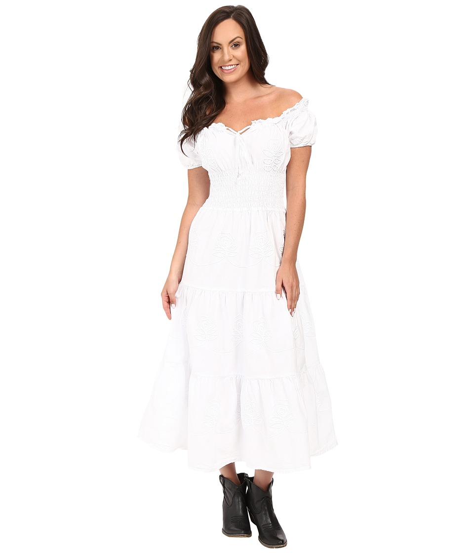 Scully - Adelaide Dress (White) Women's Dress