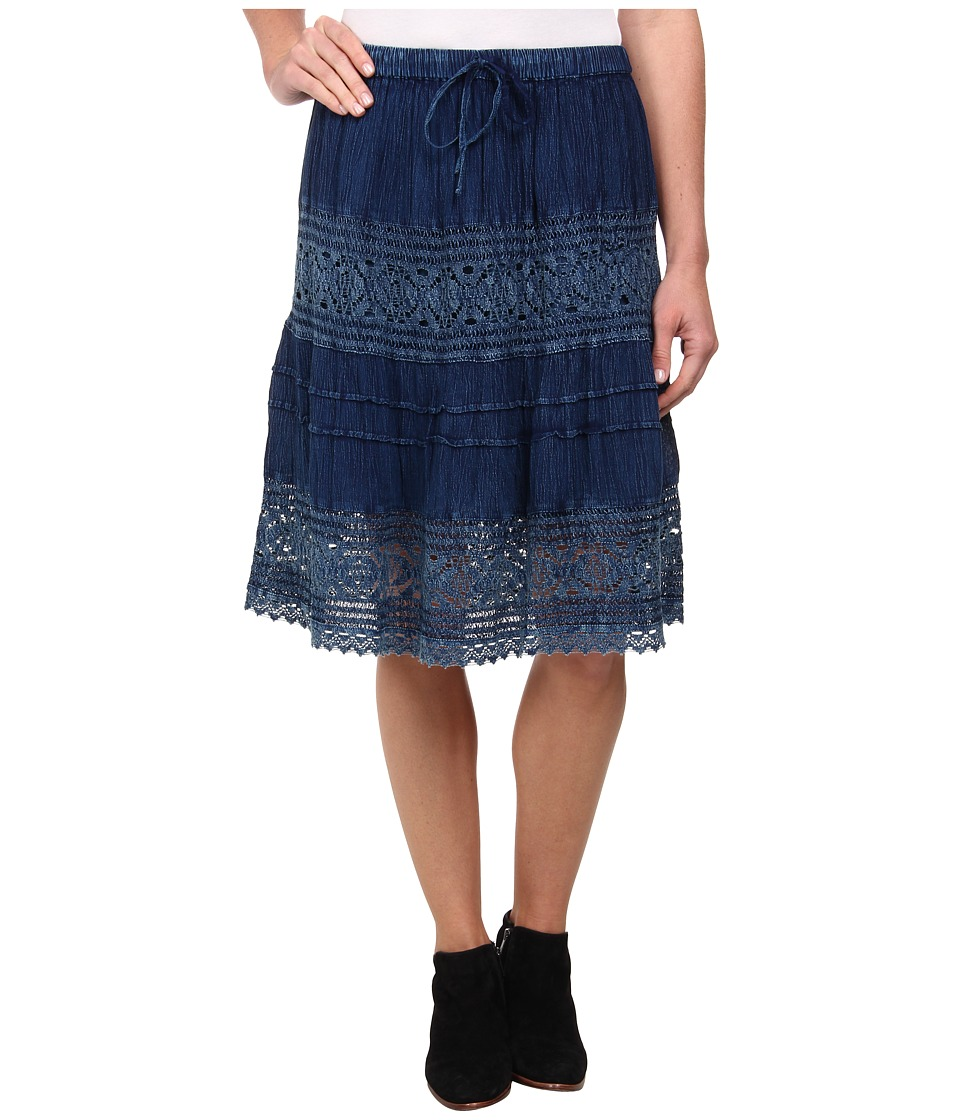 Scully Aceline Skirt (Blue) Women