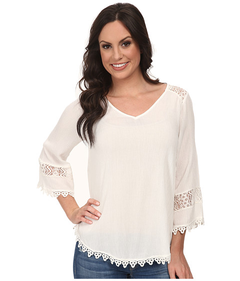 Scully - Cynthia Blouse (Ivory) Women