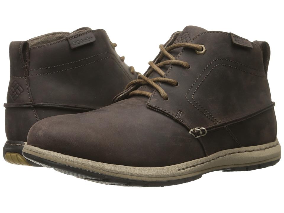 Columbia - Davenport Chukka FG (Cordovan/Prairie Sand) Men's Boots