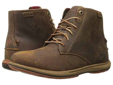 Columbia - Davenport Six NB (Elk/Dark Ginger) Men's Boots