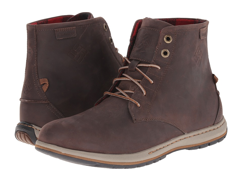 Columbia - Davenport Six FG (Cordovan/Grizzly Bear) Men's Boots