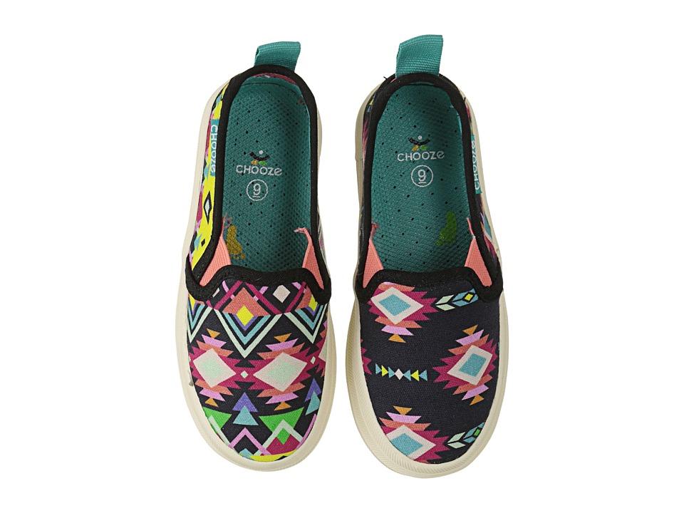 CHOOZE Move (Toddler/Little Kid) (Arise Black) Girls Shoes