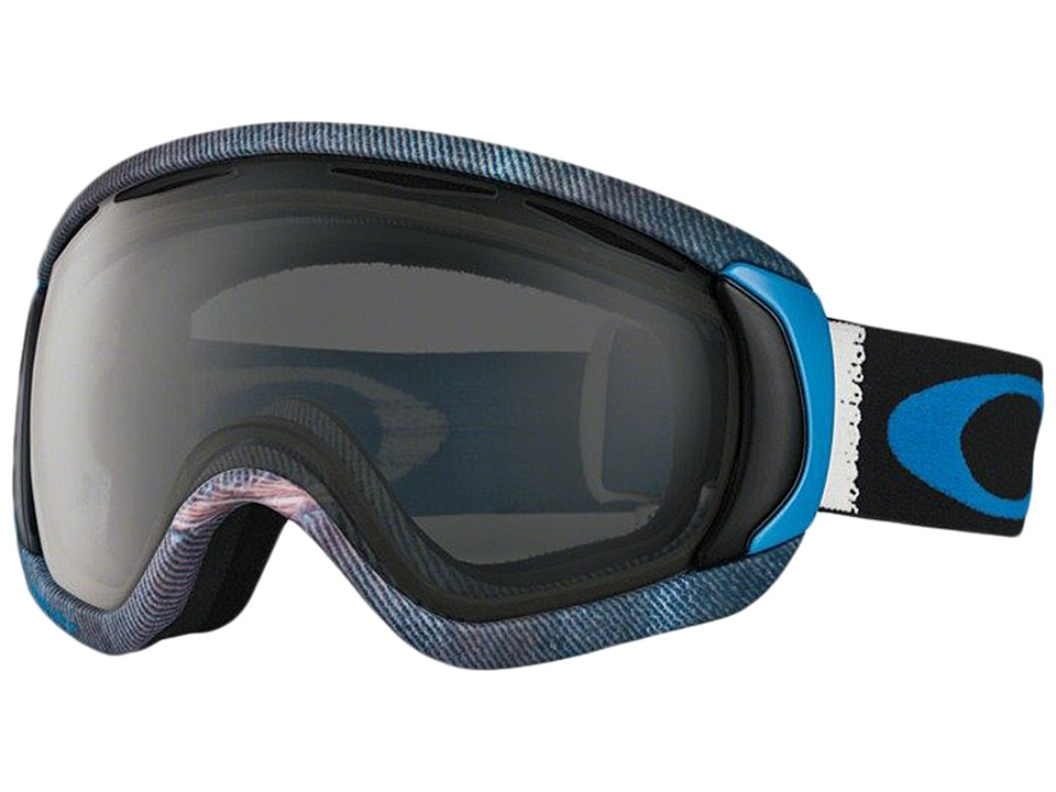 Oakley - Canopy (Aberdeen White Blue/Dark Grey) Snow Goggles