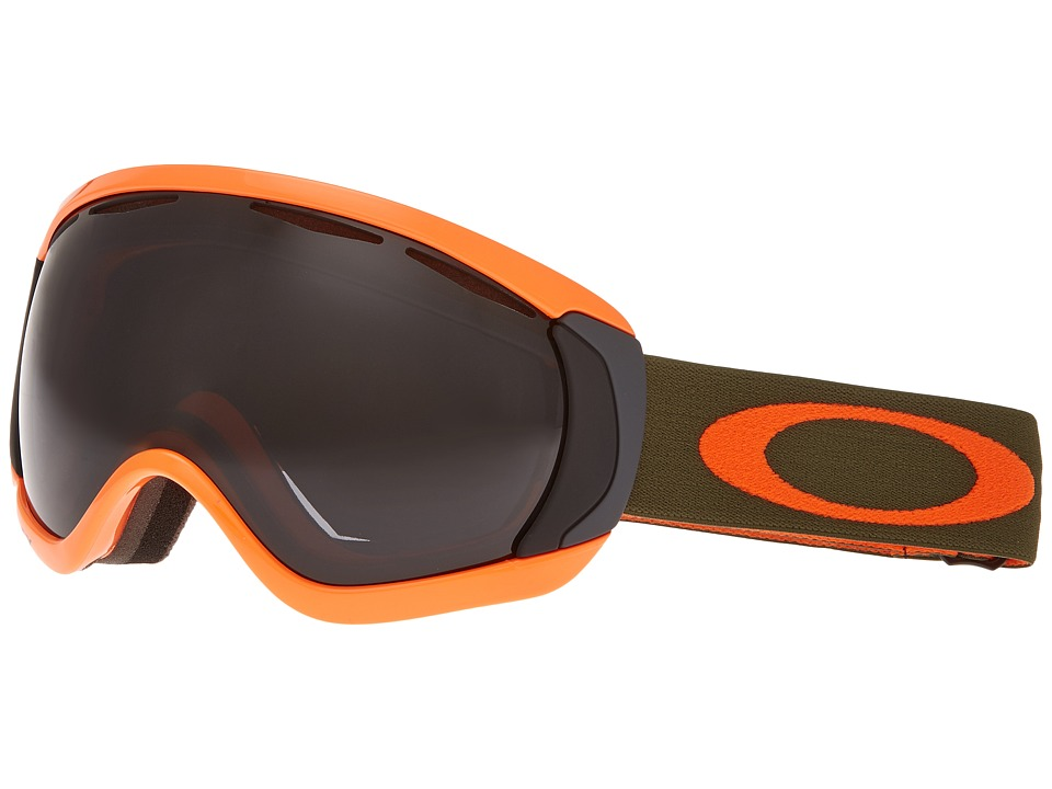 Oakley - Canopy (Herb Orange/Dark Grey) Snow Goggles