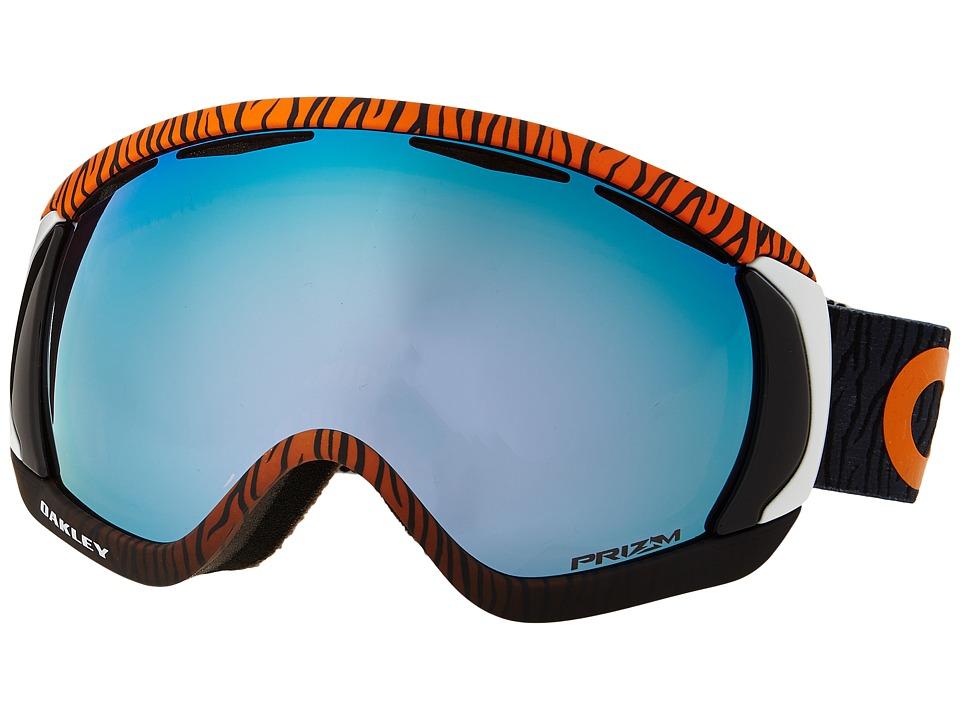Oakley - Canopy (Factory Pilot Bengal Orange/Prizm Sapphire Iridium) Snow Goggles