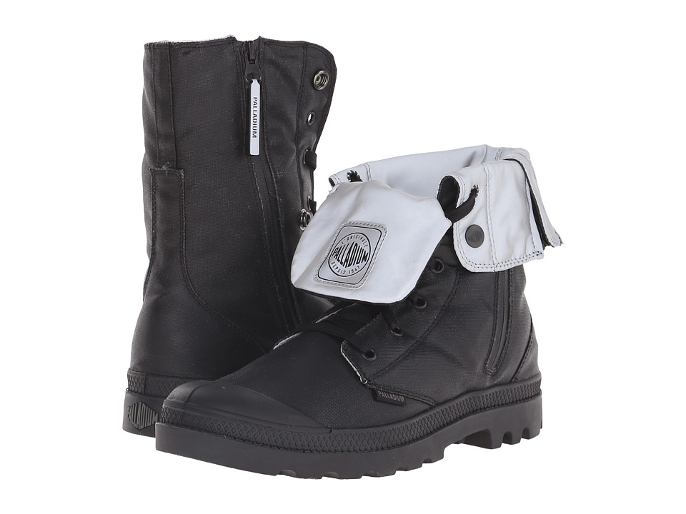 Palladium - Baggy Zip CN (Black/Reflective) Boots