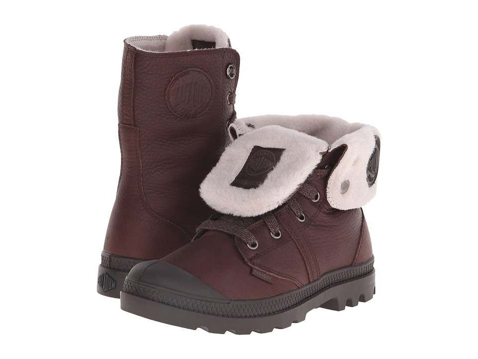 Palladium - Pallabrouse BGY WPS (Chocolate/After Dark) Women's Boots