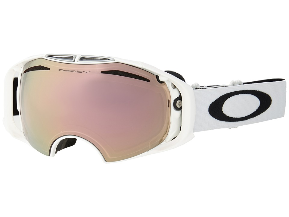 Oakley - Crowbar (Polished White/VR50 Pink Iridium) Snow Goggles