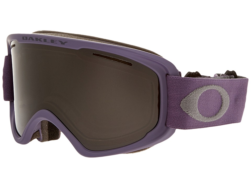 Oakley - O2 XM (Purple Shade Grey/Dark Grey) Sport Sunglasses