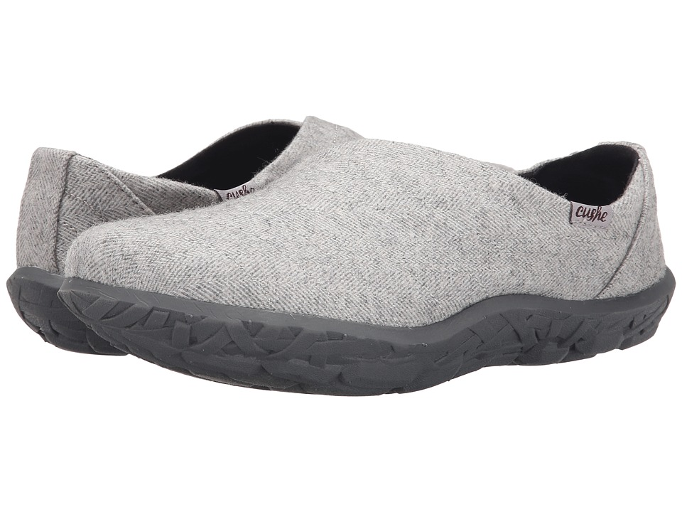 Cushe W Slipper LOA (Light Grey Herringbone) Women