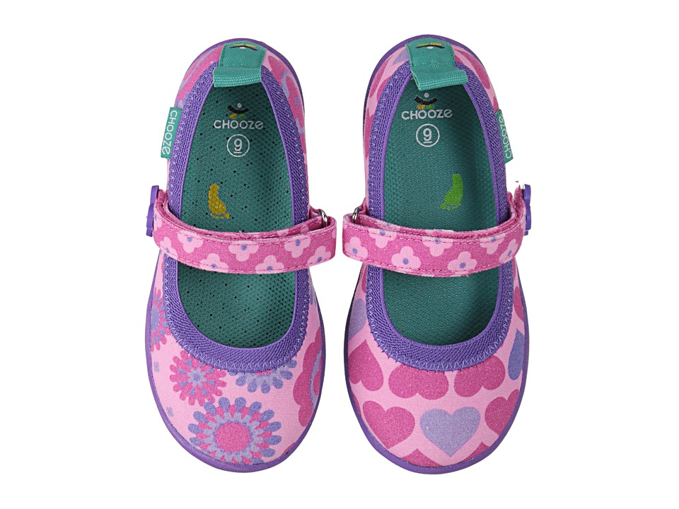 CHOOZE - Jump (Toddler/Little Kid) (Delight) Girl's Shoes