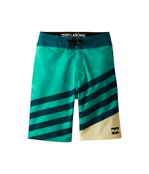 Billabong Kids - Slice X Boardshorts (Big Kids) (Mint) Boy