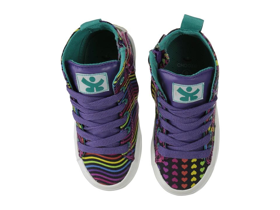 CHOOZE - Spark (Toddler/Little Kid/Big Kid) (Beam Black) Girls Shoes